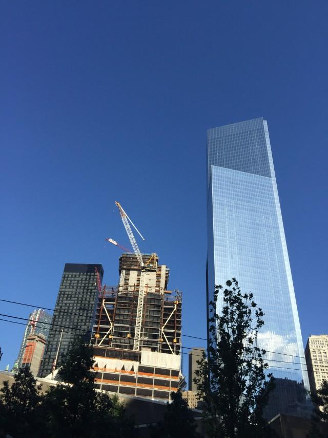 Three WTC Halfway Up