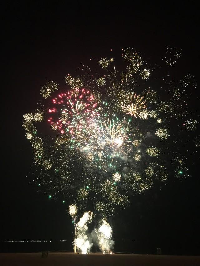 South Beach Staten Island Fireworks - August 12, 2015