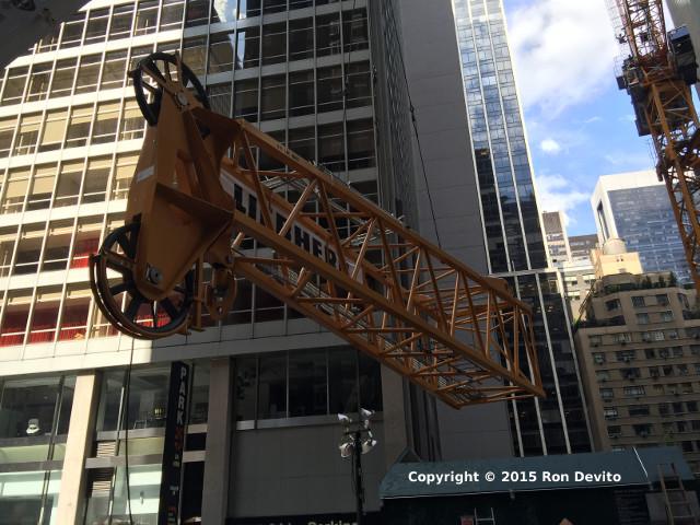 Tower Crane Assembly for MoMA Tower - September 13, 2015