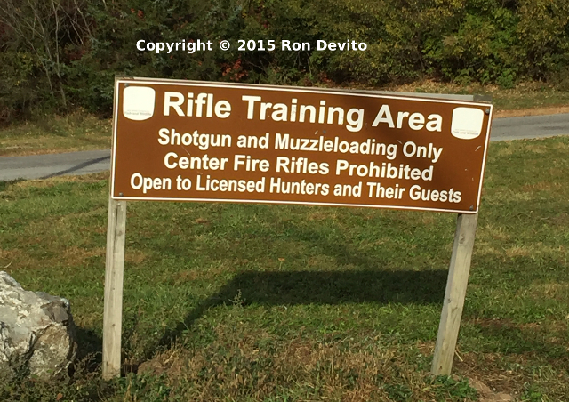 Funny Sign FAIL - Rifle Training Area