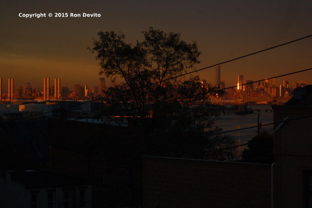 Amazing NYC Sunset -1