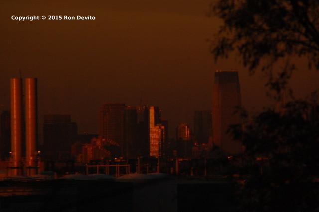 Amazing NYC Sunset -4