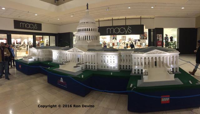Lego Americana Roadshow - U.S. Capitol